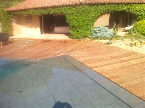 piscine contemporaine en carrelage gr 232 s c 233 rame gris anthracite carrelage et salle de bain la