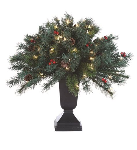 potted pre lit tree pre lit potted artificial tree 28 images home accents