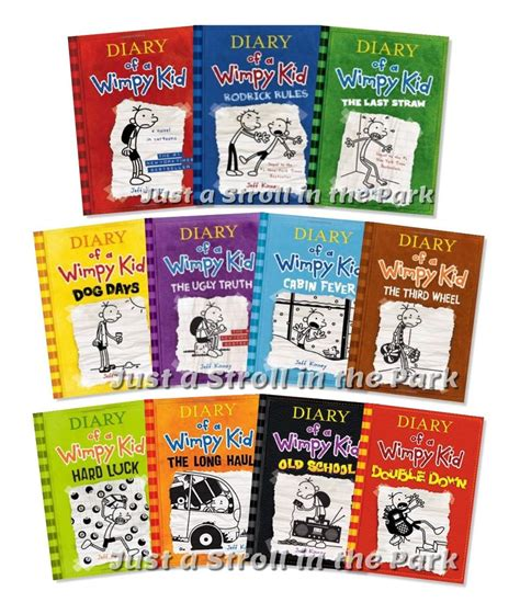 the diary of a series 1 diary of a wimpy kid complete series hardcover books 1 11