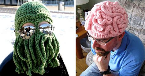 cool knitting 25 cool winter hats that will keep you warm bored panda