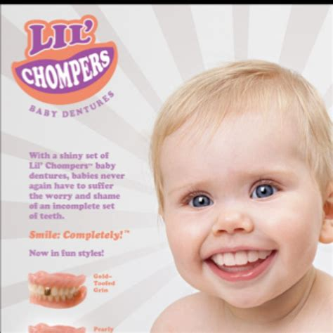 for babies lil chompers baby dentures products i