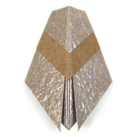 origami cicada how to make a traditional origami cicada page 1