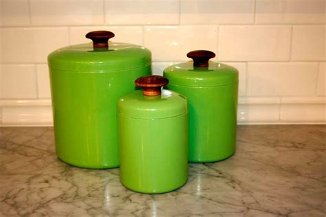 Kitchen Canister modern lime green kitchen canisters quicua com