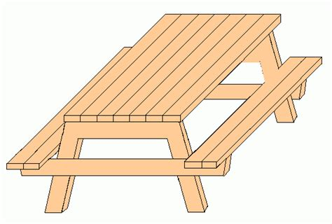 woodworking plans picnic table wood picnic table drawing pdf plans