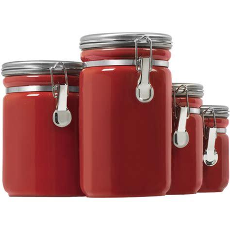 storage canisters kitchen ceramic kitchen canisters set of 4 in kitchen canisters