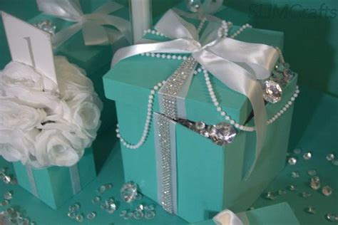 gift box centerpiece ideas 6x6 bling gift box centerpiece with ribbon slimcrafts
