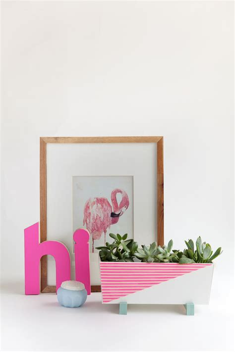 modern indoor planters diy modern indoor planter tell and