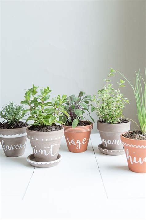 indoor herb planter diy labeled indoor herb planters h o m e
