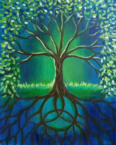 paint tree best 10 tree paintings ideas on painted trees