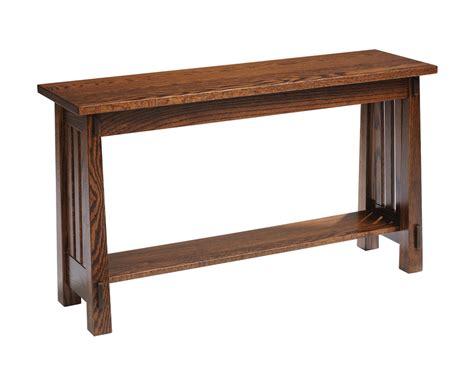 sofa table furniture country mission sofa table amish furniture designed