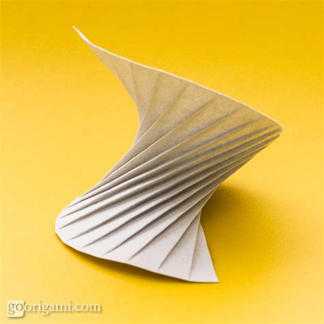 origami spiral origami tessellations corrugations fractals gallery