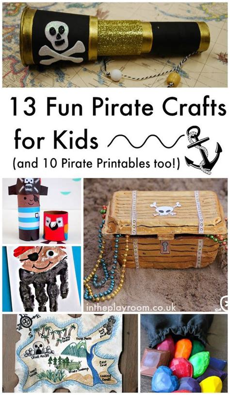 pirate craft ideas for 13 pirate crafts for and 10 pirate printables