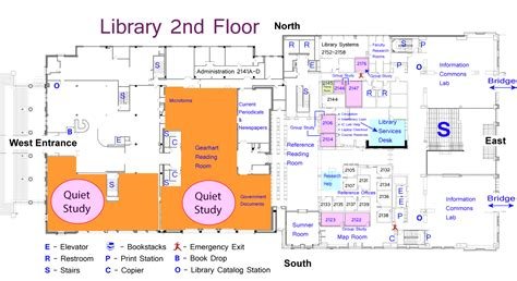 school library floor plans library floor plans maps and directions tcu couts