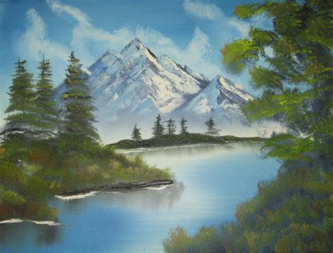 bob ross of painting uk bob ross painting time lapse