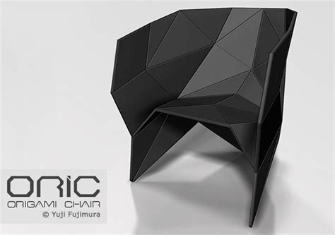 origami chair oric origami chair en themag