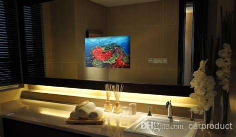 tv in the mirror bathroom 29 best images about vision tv mirror on