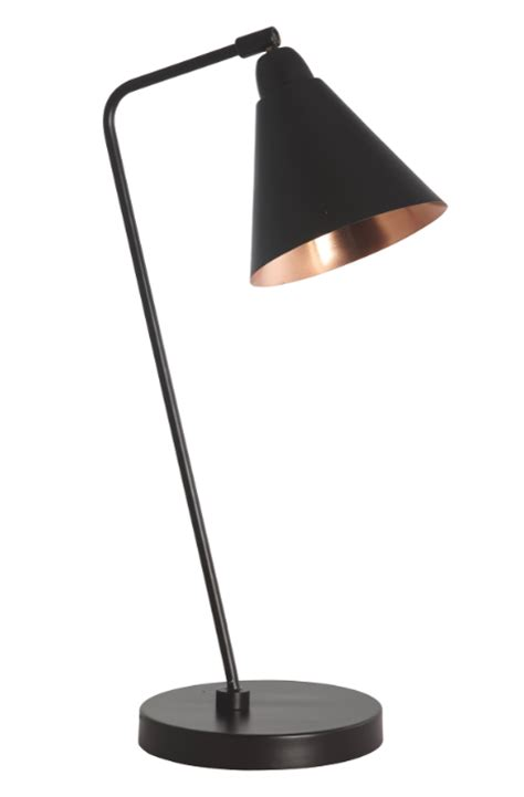 Pink Retro Kitchen Collection carter retro industrial black copper table lamp discontinued