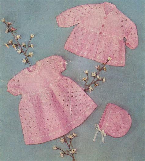 free knitting patterns uk free lace baby dress knitting patterns patterns knitting