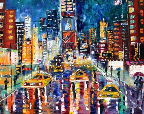 paint nite nyc march on paintings cityscapes and
