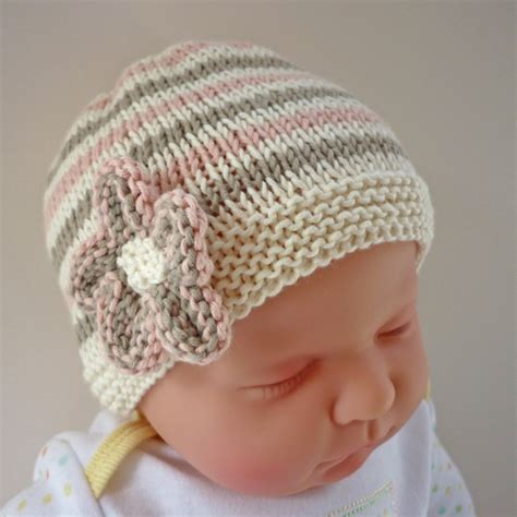 knit newborn baby hats free patterns baby hat knitting pattern pdf emilie folksy
