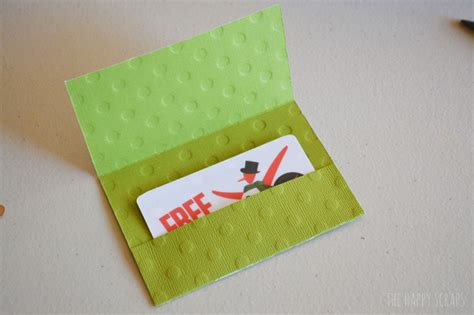 how to make a gift card basket simple gift card holder the happy scraps