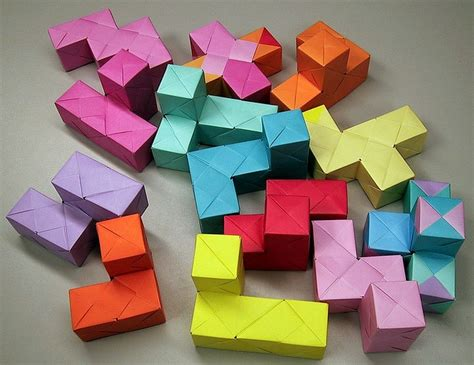 3d cube origami 1000 images about origami cubes on origami