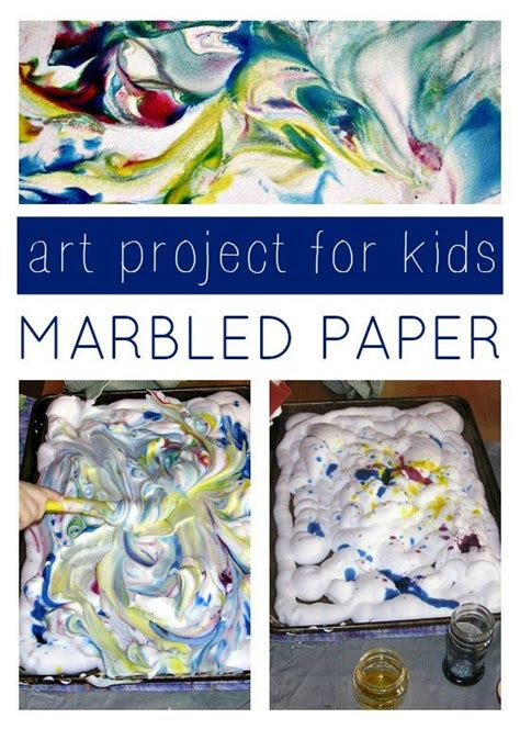 marbled paper craft marbled project for coloring for