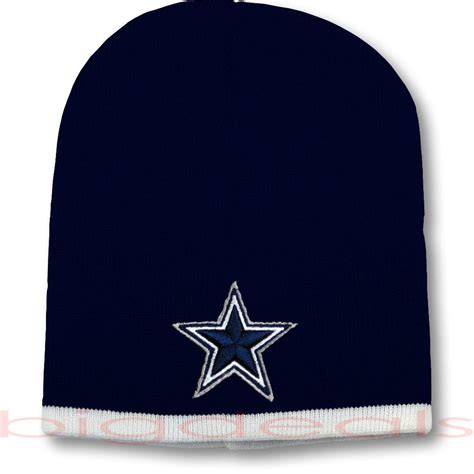 cowboys knit beanie dallas cowboys beanie logo football nfl skull cap