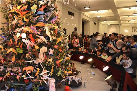 origami tree nyc american museum of history origami tree