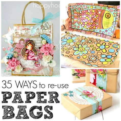 crafts using paper bags 35 cool things to make with a paper bag happy
