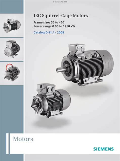Electric Motor Catalogue by Siemens Iec Motor Catalog Electric Motor