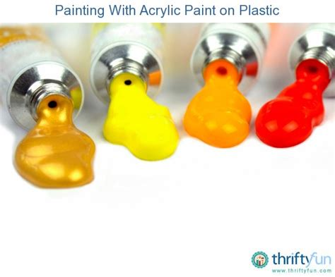 acrylic paint in plastic painting with acrylic paint on plastic thriftyfun