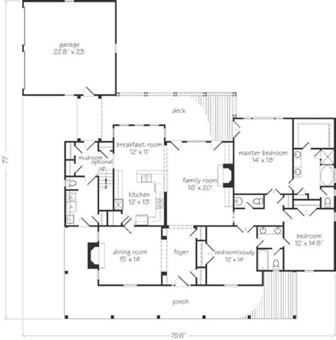 house plans with mudroom o connell wraps and study on