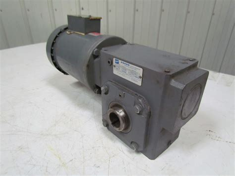 Doerr Electric Motor by Doerr 201414b861 Gearbox 50 1 Ratio W Lr 22132 Electric Motor