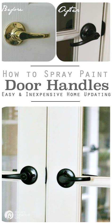 spray paint door knobs spray painting door knobs how to paint door knobs