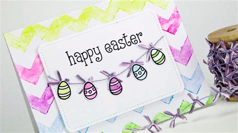 how to make a easter card how to make a watercolor easter card