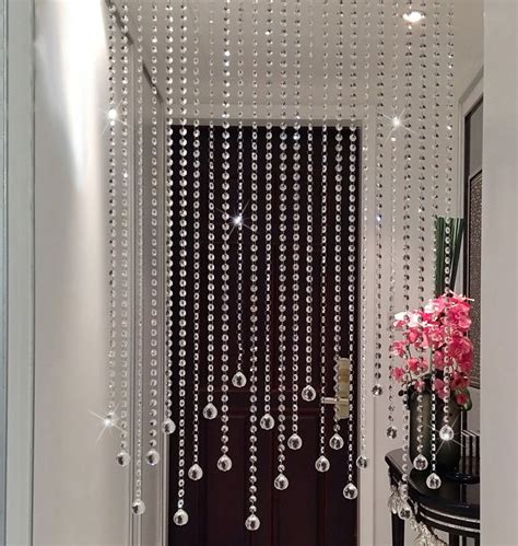 custom beaded curtains get cheap office partitions glass aliexpress
