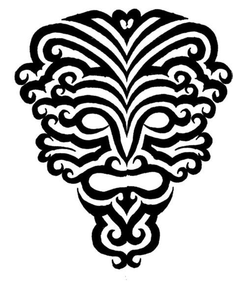 tribal mask by fensterfisch on deviantart