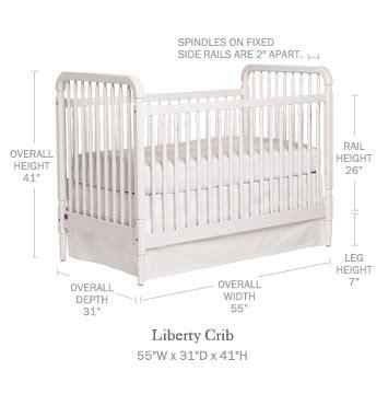 dimensions of a baby crib liberty crib cribs mattresses serena and