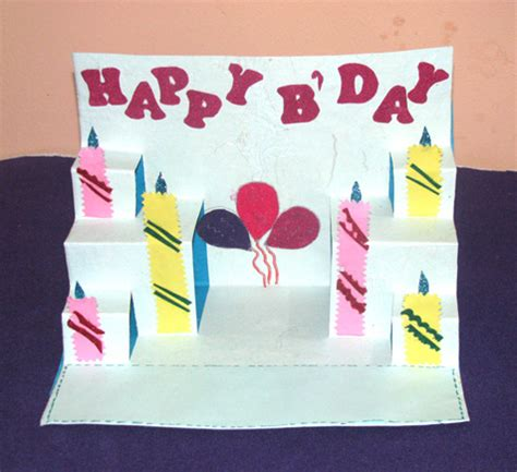how to make a cool pop up birthday card buy ballon and candle pop up card shipmycard