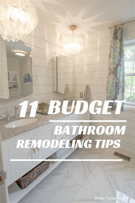 renovating a small house on a budget bathroom remodeling on a budget tucker decorative