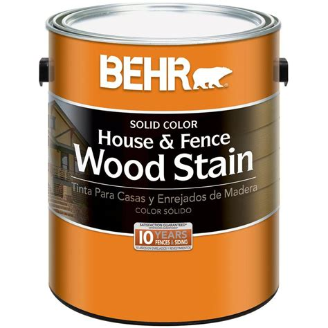 behr paint primer colors behr 1 gal white base solid color house and fence wood
