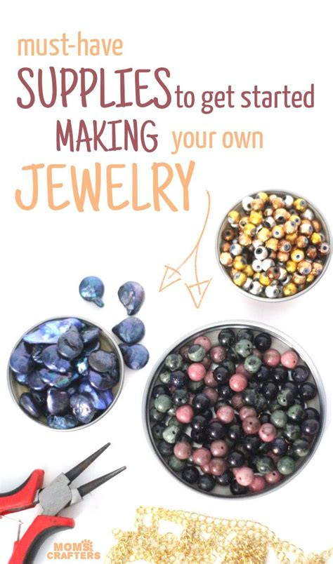 jewelry materials list best 25 jewelry supplies ideas on