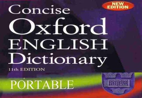 dictionary free free books and softwares concise oxford