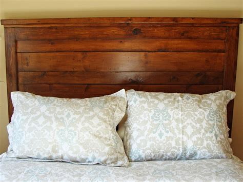 woodworking headboard rustic yet chic wood headboard hgtv