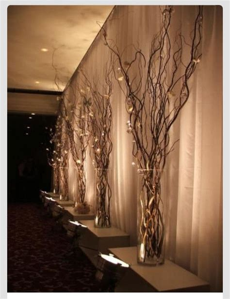 branches with lights centerpiece 25 best ideas about lighted branches on green