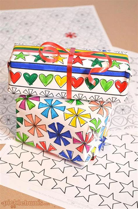 10 wrapping paper crafts that will