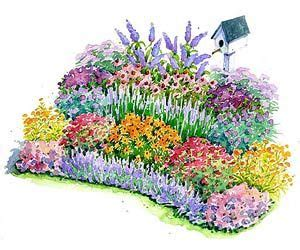 small flower garden plans gardens beautiful and design on