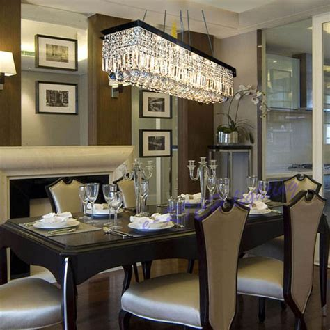 rectangular dining room chandelier beautiful rectangular dining room light modern linear
