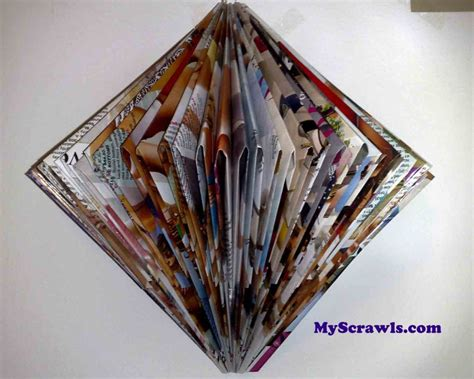 magazine paper crafts paper craft wall hanging my scrawls